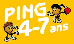 ping pong 4 à 7 ans en occitanie