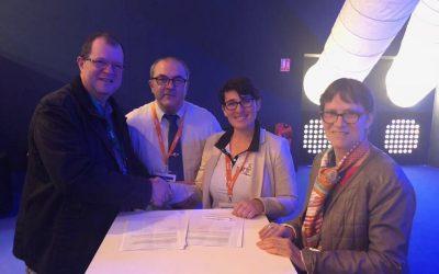 Signature de la convention BPJEPS