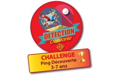 Challenge Ping Découverte 3/7 ans