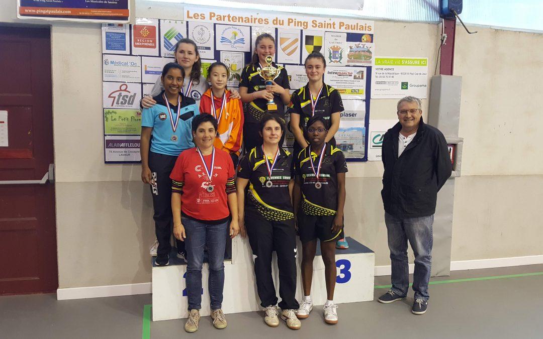 Résultats 1ère journée du Championnat féminin 2018/2019