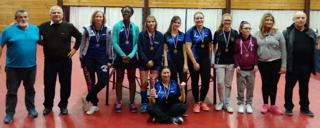 Résultats 2ème journée du Championnat féminin 2018/2019