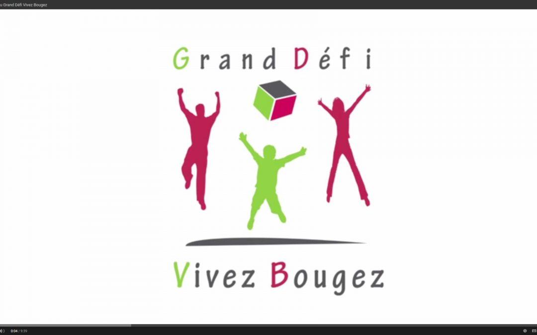 Programme du « Grand Défi Vivez Bougez »