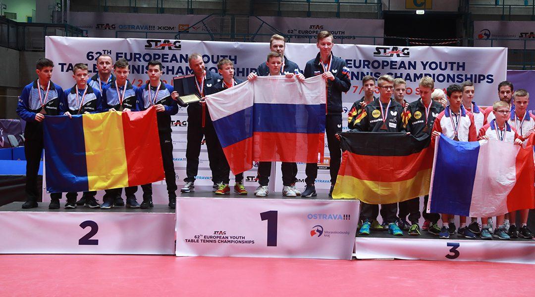 Félix LEBRUN, double médaillé de Bronze aux CEJ 2019