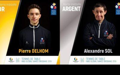 Global Games 2019 : 2 Occitans médaillés