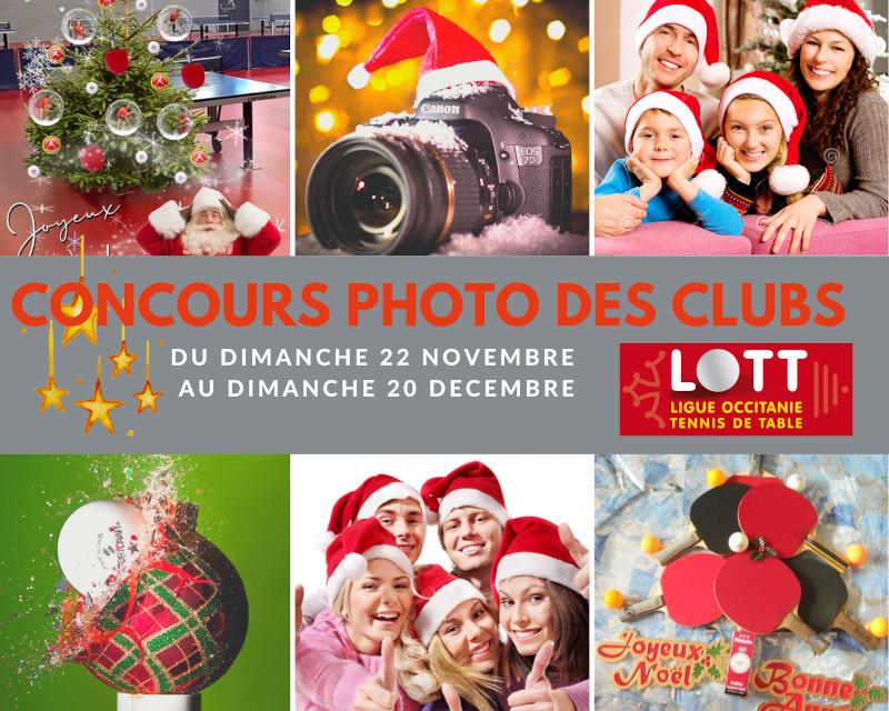 Résultat du concours photo «Ping de Noël»